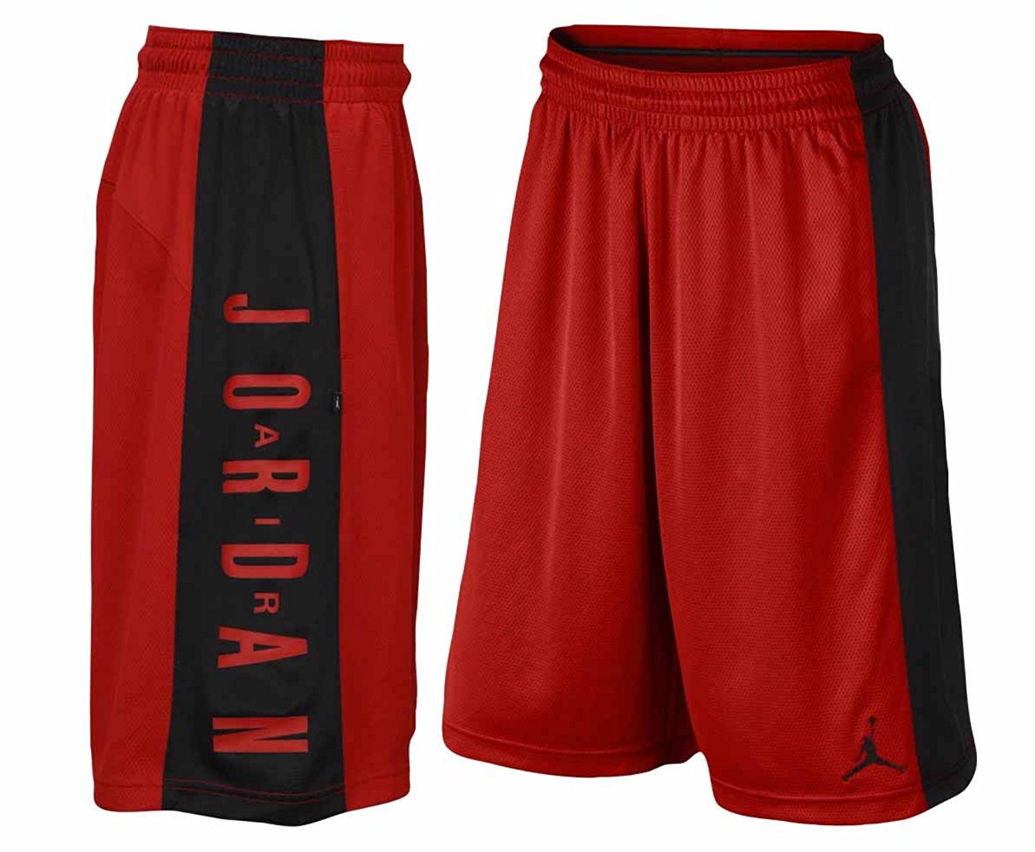 49a98319a20 Get Quotations · Jordan Men's Dri-Fit Nike AJ Highlight Basketball Shorts-Gym  Red-Small