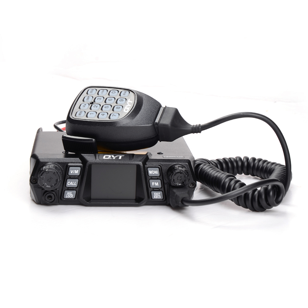 100W High power QYT KT-780 Plus 200CH VHF/UHF Single Band Vehicle Radio with Colorful Display