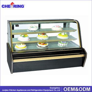 factory price display counter commercial refrigerator