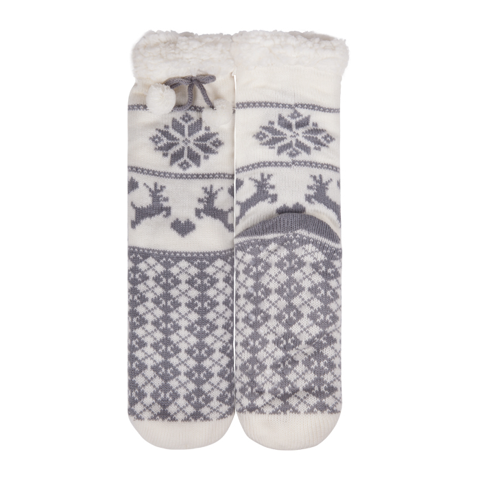 Indoor Floor Custom Warm Fuzzy Socks Winter