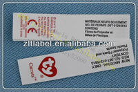 Children Shoes Wash Care Instruction Labels Clothing Tag - Buy ...