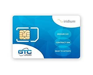 GTC Iridium Go! Postpaid SIM Card