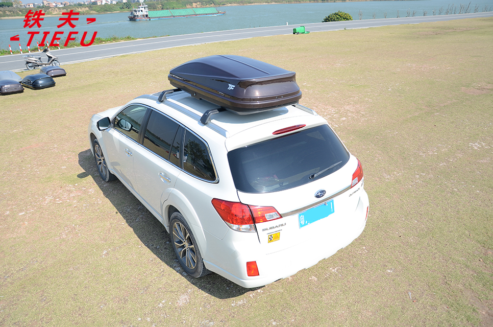 Shiny Gray Roof Cargo Box car roof box car roof box storage