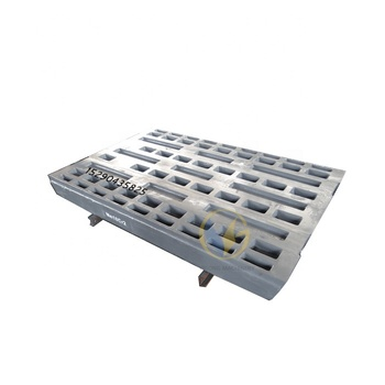 customized fixed jaw plate with free air freight