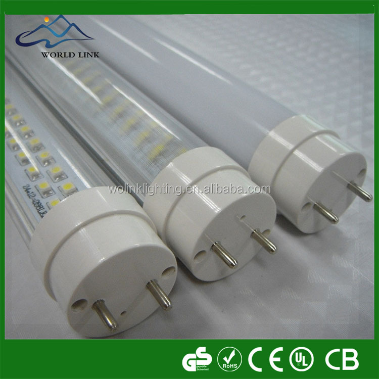 130lm/w Lighting LED TUBE T8 compatible ballast UL TUV listed