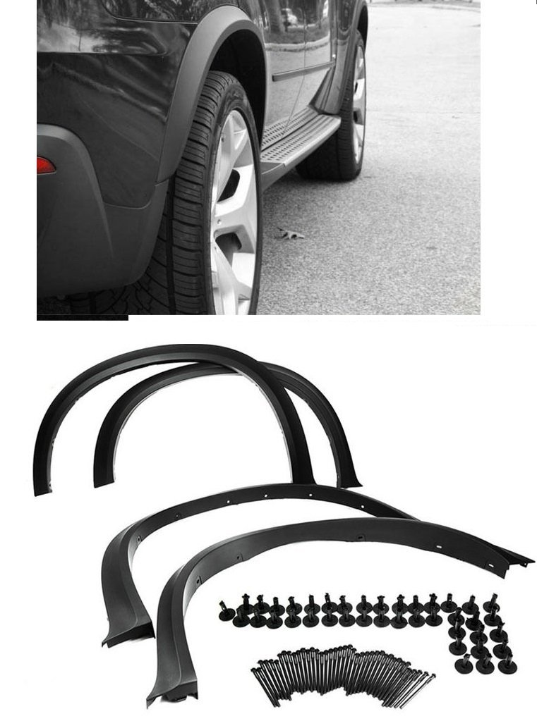 """CPW (tm) Arch Extension Fender Flare Aero Diffuser For 20"""" / 21"""" Inch Wheel For E70 07-13 BMW X5"""
