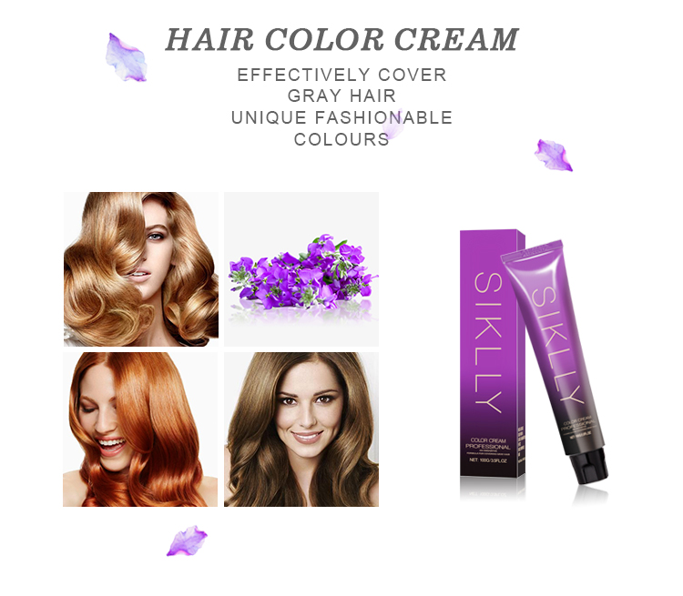 OEM professional 도매 72 의 kinds 색 best 영구 Refreshing natural hair color 크림