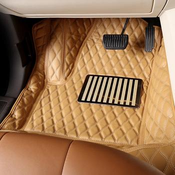 Full Set Leather Car Interior Accessories Custom 5d Car Floor Mats