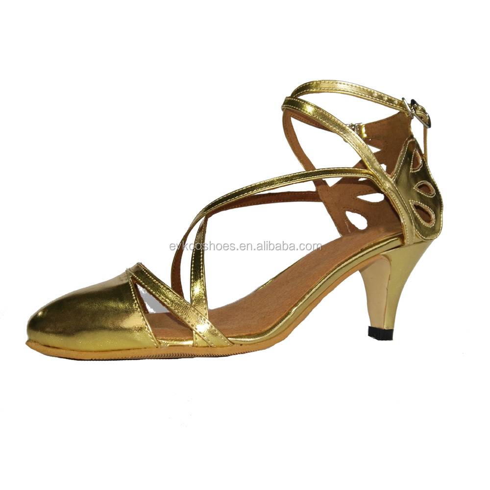 Hot selling men latin dance shoes women with low price