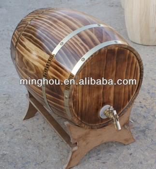Wholesale 10l Solid Wood Oak Wine Barrels Stands Buy Oak Wine