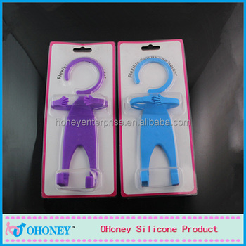 Wedding gifts&decoration cute style silicone phone holder, guangzhou factory, China