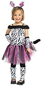 Fun World Costumes Baby Girl's Zebra Toddler Costume by Fun World Costumes