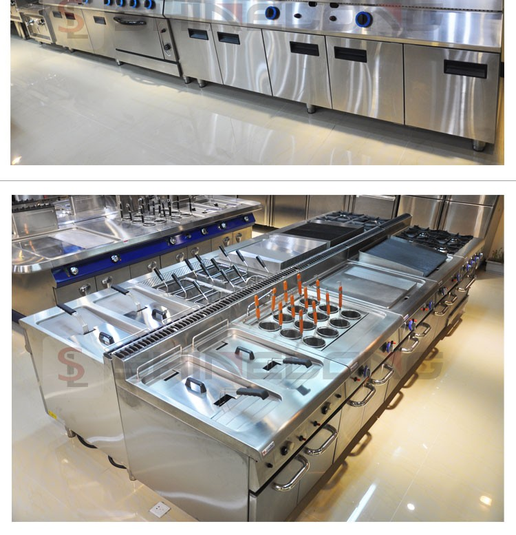 Top Series Commercial Industrial Hotel Kitchen Equipment And Tools In Kitchen Project Buy