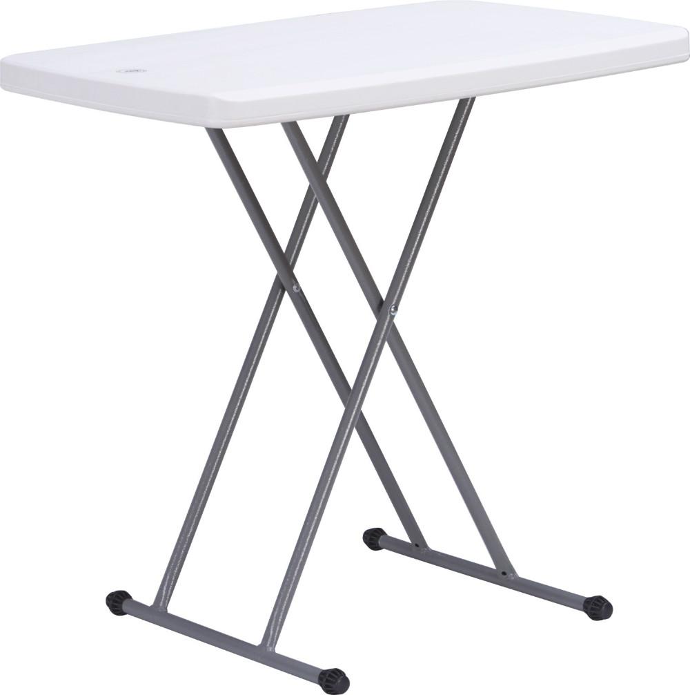 Child Plastic Adjustable Folding Table/75*50cm/adjustable Mini Table For  Kids/