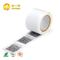Variable Data printing serial number barcode label adhesive sticker