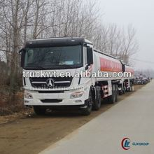 Factory directly supplied 270 hp North Benz 8*4 Bulk Fuel Tank Truck 30000L