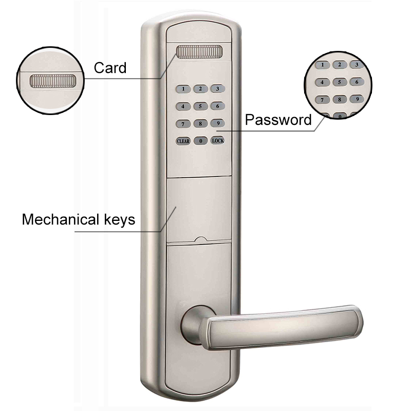 Intelligent Zinc Alloy Smart Digital Keyless Push Button Combination Door Lock Buy Push Button