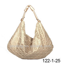 Wholesale designers cotton crochet bag handbags for women