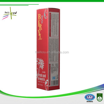Professional Permanent Bright Red Hair Dye for Salon