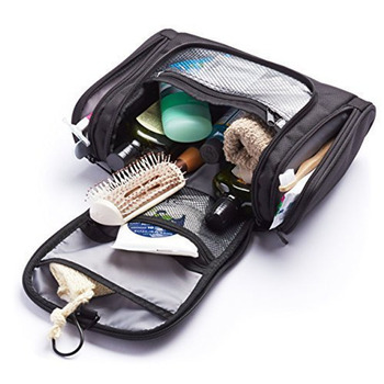 Traveling essentials kit make up organizer wash pouch women men travel hanging toiletry makeup cosmetic bag