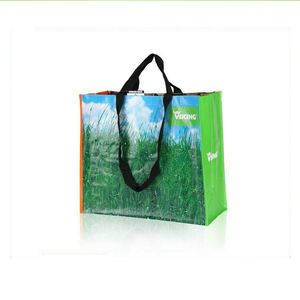 azo free laminated ladies colorful shoulder bags with long handles