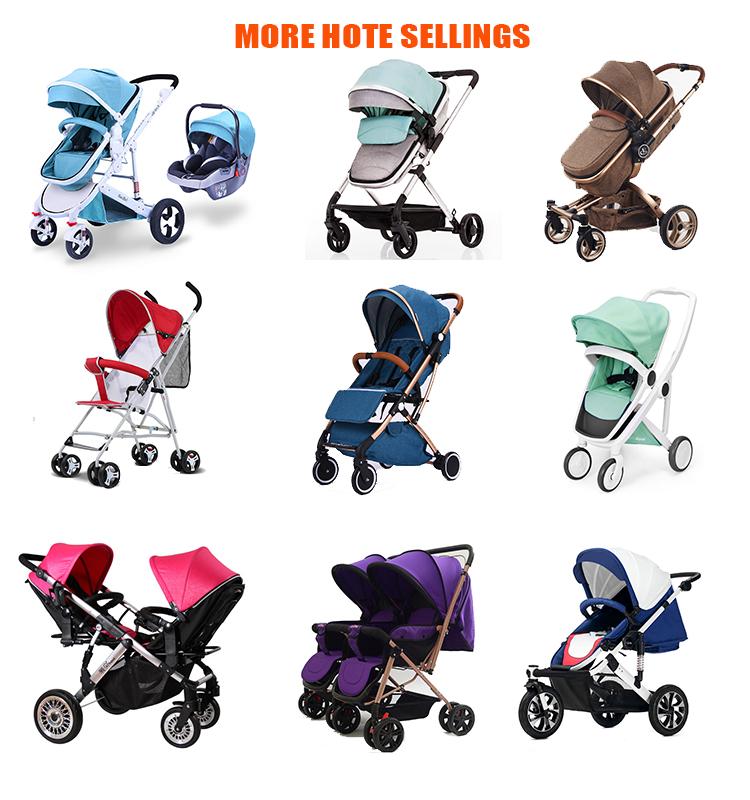 H Luxury Baby Stroller With Big Wheels Trolley Baby
