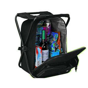Backpack cooler bag with chair,coolers bag promotional cheap price