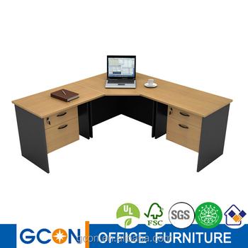 Laminated Furniture Modern Wood Office Executive L Desk Buy L Desk Office L