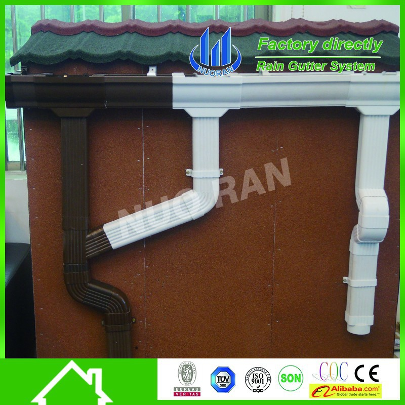 Pvc Rain Gutters And Downspouts With High Quality Buy