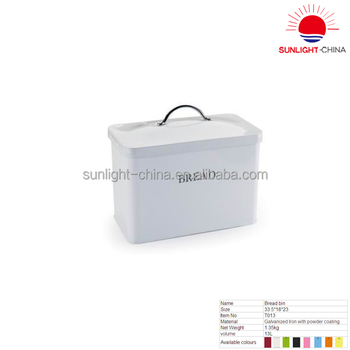galvanized iron storage bucketmetal storage bread boxmetal big storage bin with lid - Metal Storage Bins