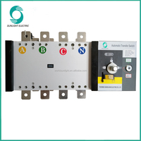 XQ5 4P 400amp Automatic Transfer Switch for generator
