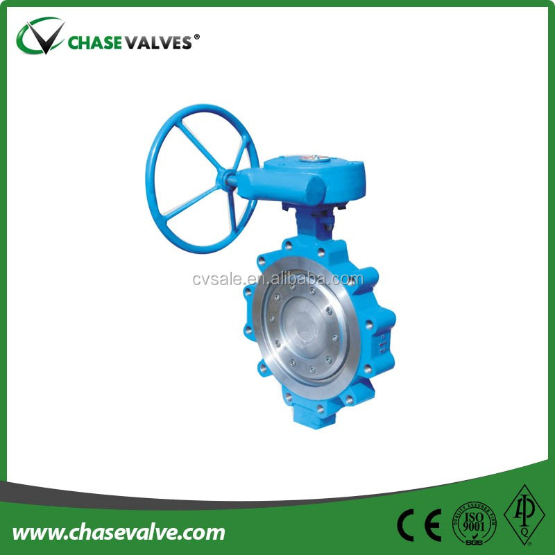 Metal Seal Triple Offset Butterfly Valve With Lug Type Ends