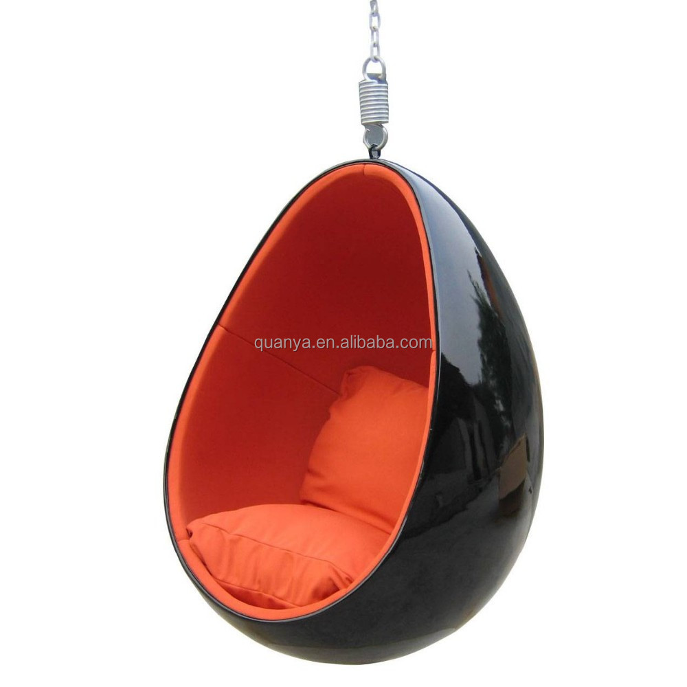 Factory Direct Fiberglass Ceiling Hanging Egg Chair Swing Product On Alibaba Com