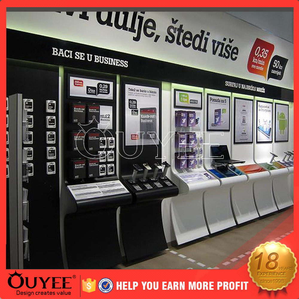 Mobile Display Cabinet Retail Mobile Shop Display Counter Retail Mobile Shop Display