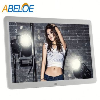 "15 Inch Digital Lcd Photo Albums 15"" video advertising digital frame with 1024X768"