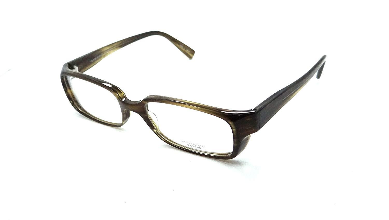 Oliver Peoples Rx Eyeglasses Frames Gehry Ot 53x18 Striped Olive Made in Japan