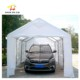 New design factory 16x20 feet vinyl curtain carport for motorcycle car parking