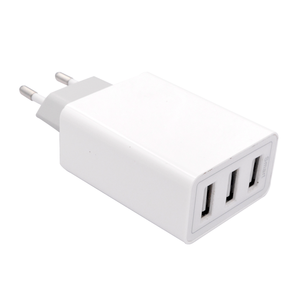 phone charger accessories  5V 5A  EU 3 port usb wall charger mobile phone charger