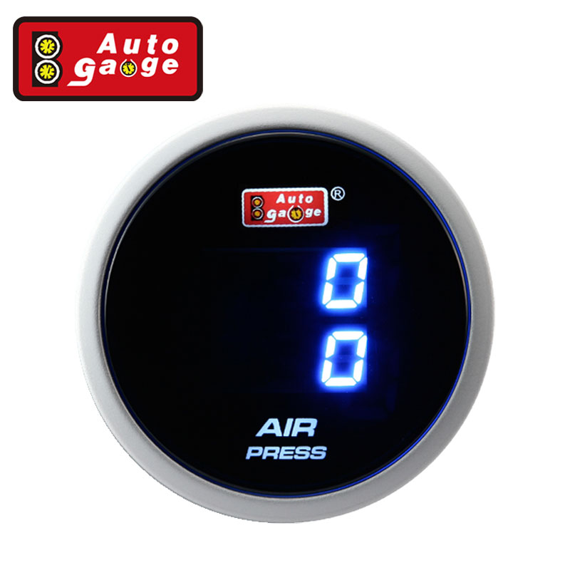 Auto Gauge Measuring Electronics Truck Monitor Air Pressure Gauge