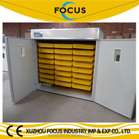 2015 Focus group 2000 eggs chicken incubator sale with spare heating tube