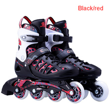 Patines Quad <span class=keywords><strong>Patins</strong></span> Inline <span class=keywords><strong>ajustável</strong></span> Sapatos de Rolo <span class=keywords><strong>Patins</strong></span> de Patinação