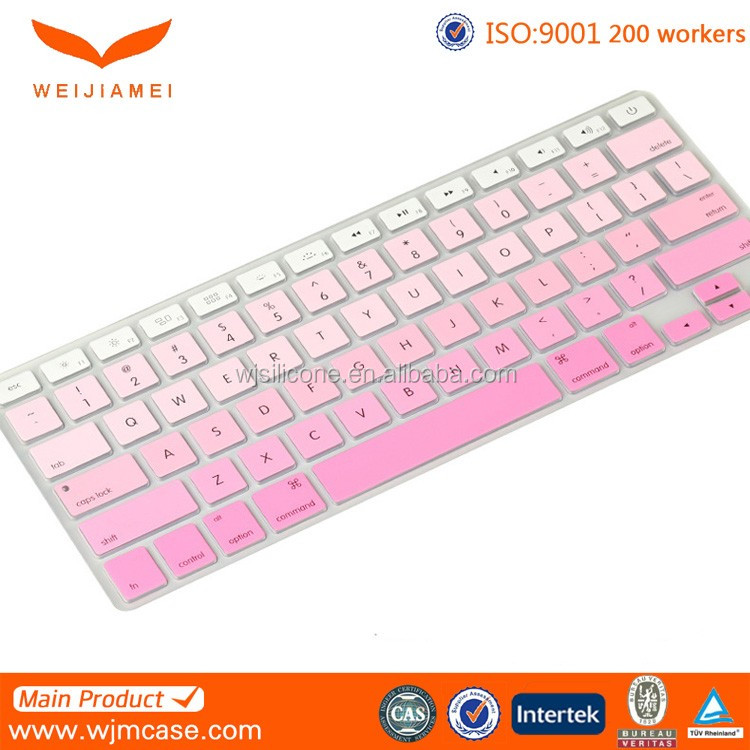Ultra Thin Colorful Soft TPU Keyboard Cover for Macbook Pro 13 15 17 Inch