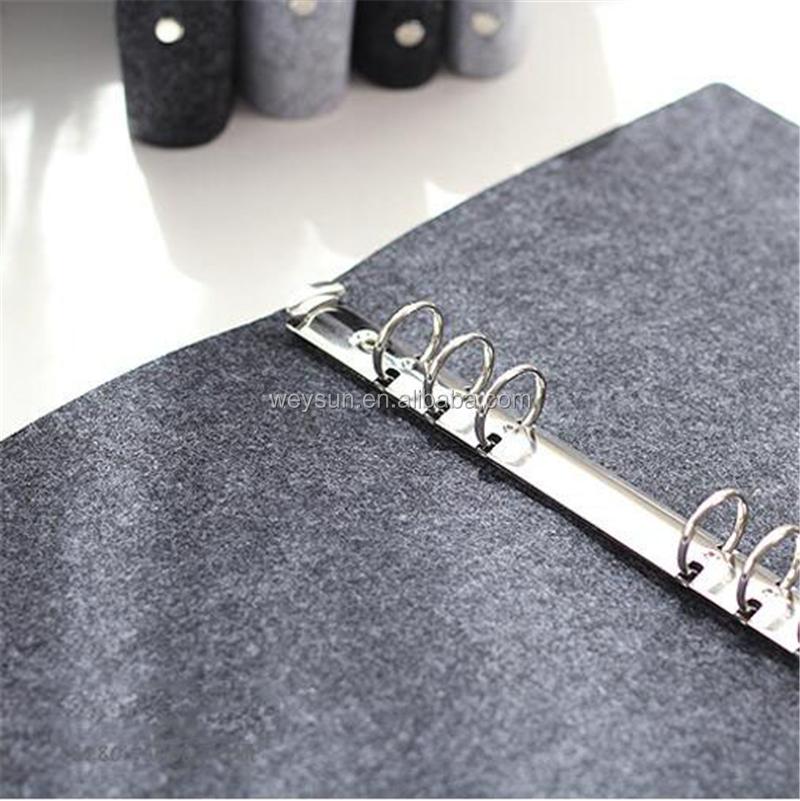 A5 Spirale Kern mit Loose Leaf Ringbinder Notizblock Abdeckung für Tagebuch