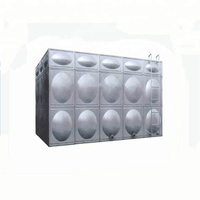 200m3 stainless steel insulated pressed panel water tanks