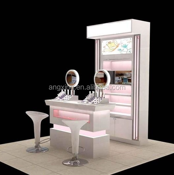 Custom Professional Makeup Station Furniture For Product On Alibaba