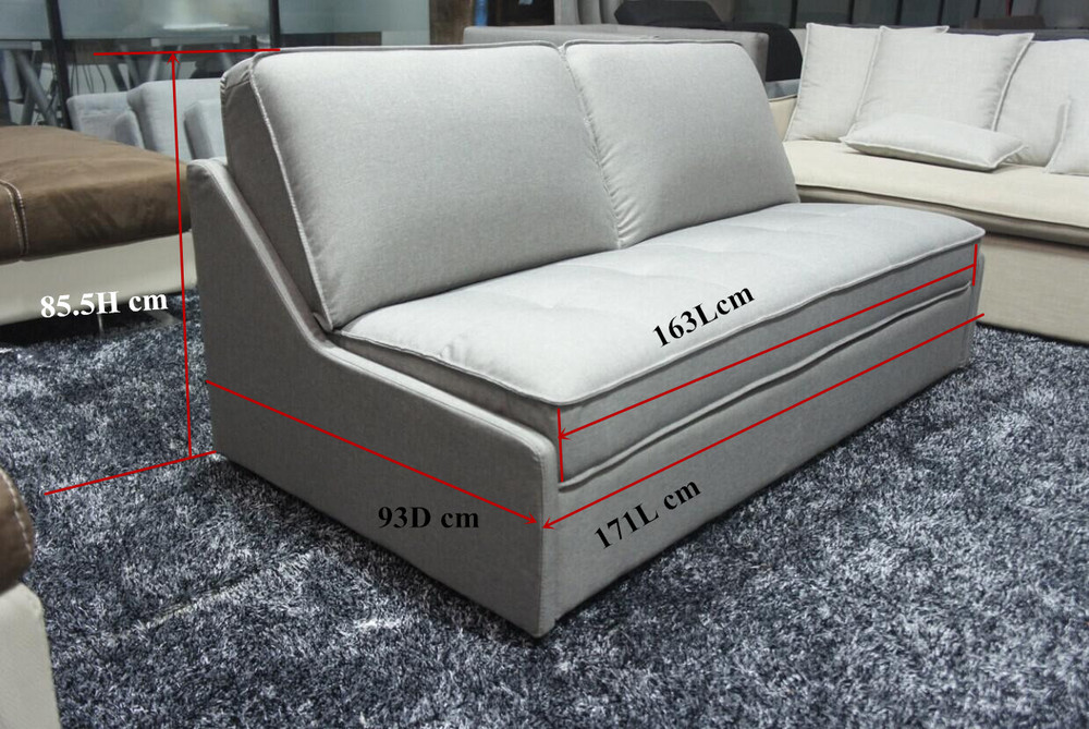 Tall People Furniture Sofa Bed Without Armrest Hot Sell