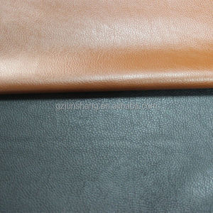 PVC artificial leather types of sofa material with soft hand-feeling