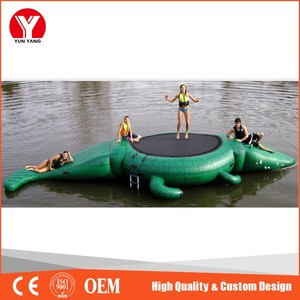 Top Quality Crocodile Inflatable Air Bouncer Inflatable Trampoline, Trampoline Inflatable