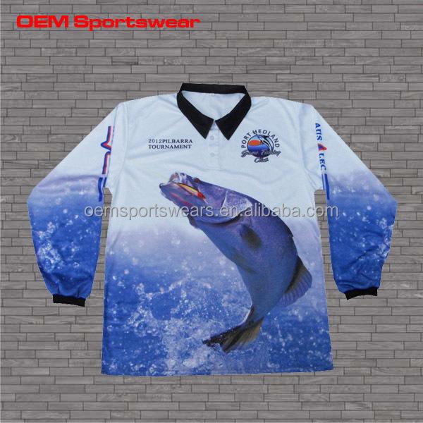 Quick dry wholesale cool performance bass fishing shirt for Fishing shirts cheap