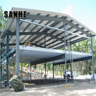 pre engineered fabricated cheap prefab warehouse with mezzanine for new zealand